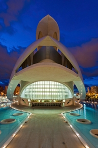Opera house. City of Arts and Sciences, Valencia